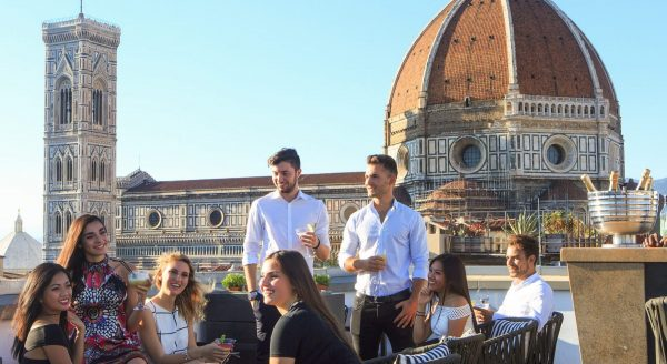 Rooftop Florence Aperitivo