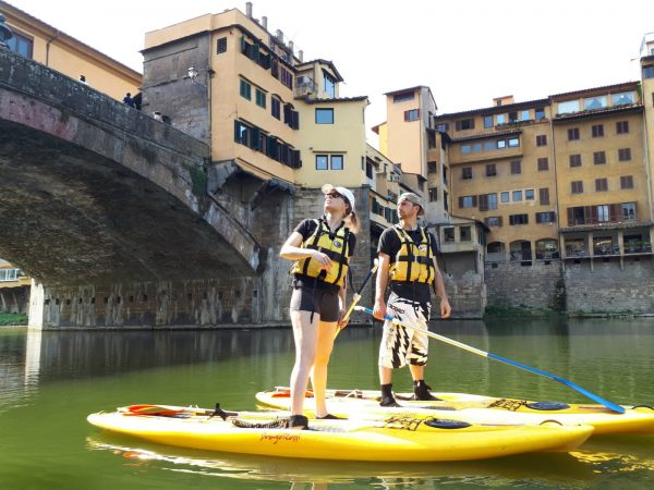 SUP in Florence